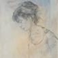 ADELITA AU PROFIL by Jean Jansem (1920 – 2013)