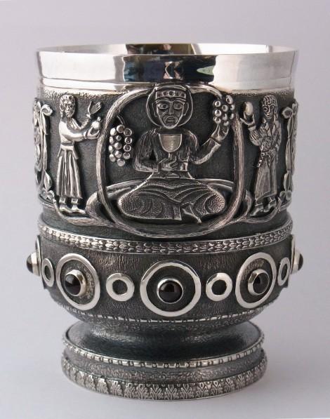 Wine cup, an art piece by Harutyun Karagyan