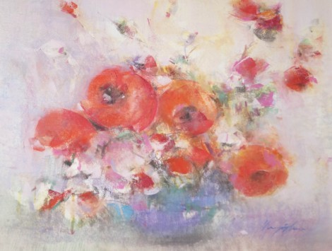 Poppies, an art piece by Sargis Abrahamyan
