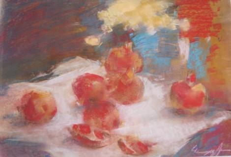 Pomegranates, an art piece by Sargis Abrahamyan