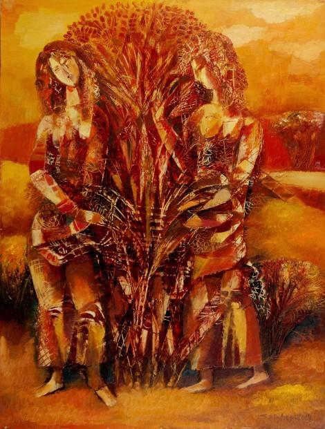 The Briar Tree, an art piece by Seyran Gasparyan