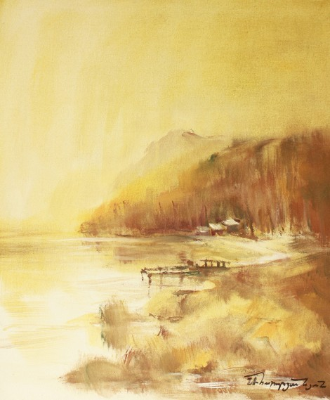 At The Lake, an art piece by Samvel Harutyunyan