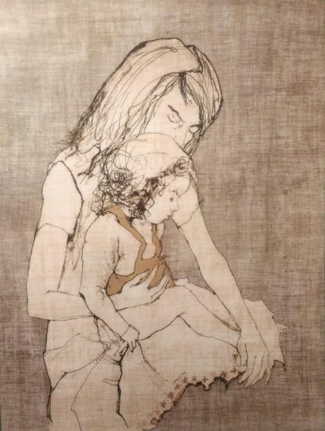 ADORATION, an art piece by Jean Jansem (1920 – 2013)