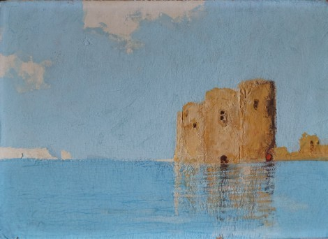 Fort, an art piece by Vasiliy Vardanyan (1910 - 1993)