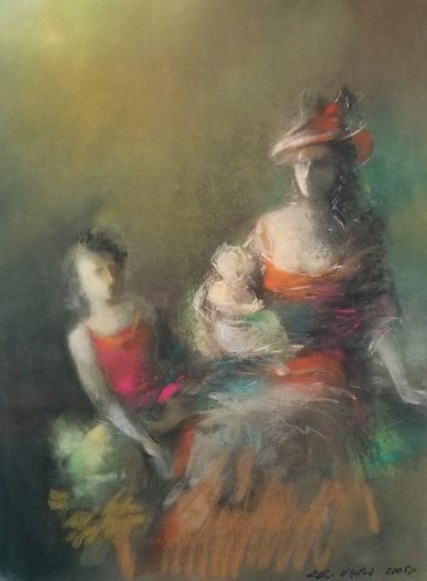 Return, an art piece by Melkum Hovhannisyan