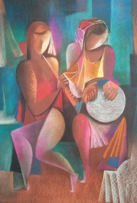 Duet, an art piece by Melkum Hovhannisyan