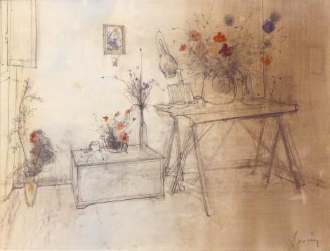 Nature Morte, an art piece by Jean Jansem (1920 – 2013)