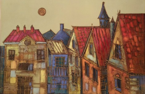 Old Town Tales 3, an art piece by Romeo Avagyan