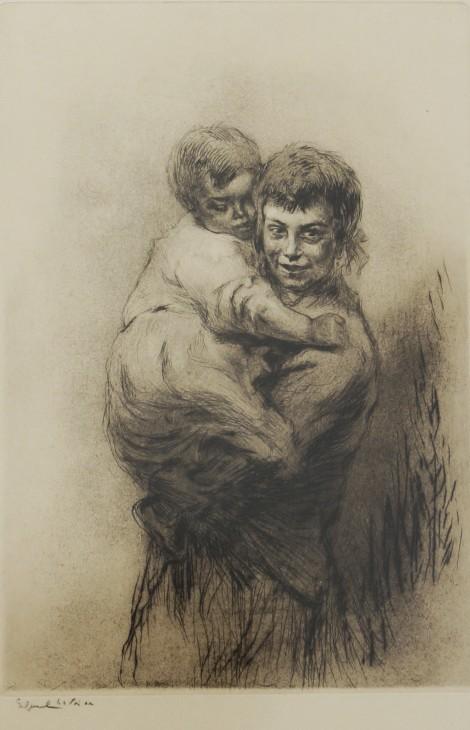 Venise - la sœur aînée, an art piece by Edgar Chahine (1874-1947)