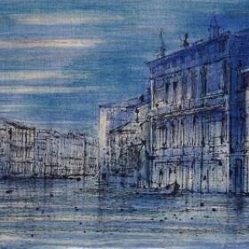 Le Grand Canal, an art piece by Jean Carzou