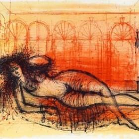 L'Odalisque, an art piece by Jean Carzou