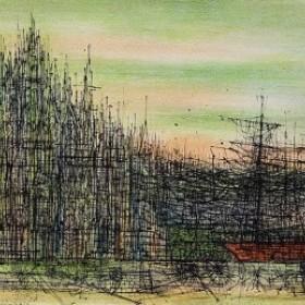 La Cathédrale, an art piece by Jean Carzou