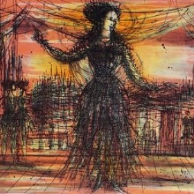 La Scène, an art piece by Jean Carzou