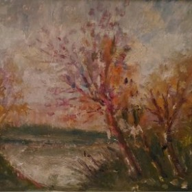 Landscape, an art piece by Bardukh Vartanian