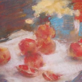 Pomegranates, an art piece by Sargis Abrahamyan