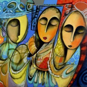 Three Sisters, an art piece by Romeo Avagyan