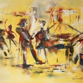 Music Band, an art piece by Samvel Harutyunyan