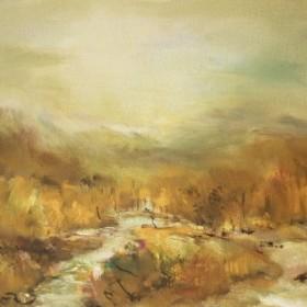 Autumn Landscape, an art piece by Samvel Harutyunyan