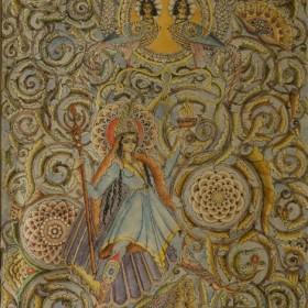 Armenian Fairy Tale Illustration , an art piece by Hakop Kojoyan (1883-1959)