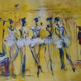 Ballerines, an art piece by Samvel Harutyunyan