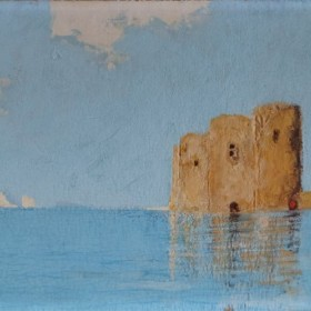 Fort, an art piece by Vasiliy Vardanyan (1910 - 1993)