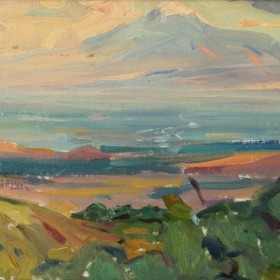 Great Ararat, an art piece by Minas Avetisyan (1928 -1975)