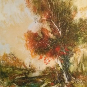 Autumn Day, an art piece by Melkum Hovhannisyan