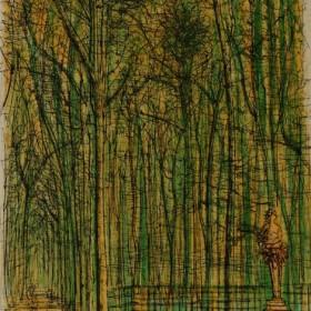 Versailles Les Jardins Du Roi, an art piece by Jean Carzou