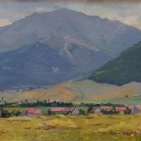 The Herher Village , an art piece by Simon  Galstyan