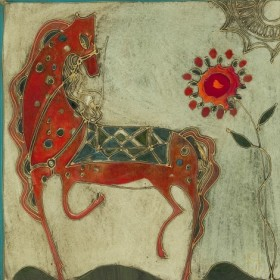 Red Horse, an art piece by Gohar Edigaryan