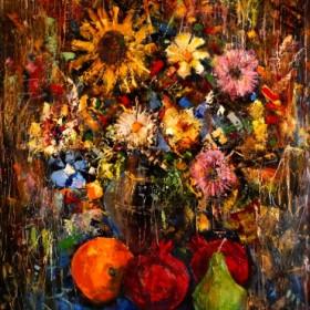 Flowers, an art piece by Serjo Maltsev